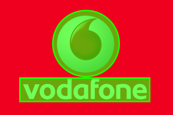 Vodafone Basic Logo shape